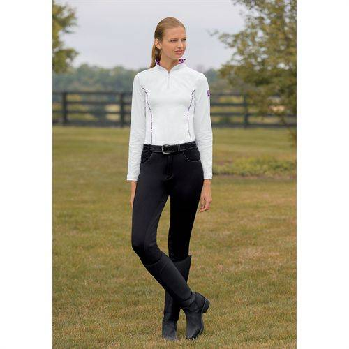 Devon Aire Ladies Power Fleece Full Seat Water Repellent Breech