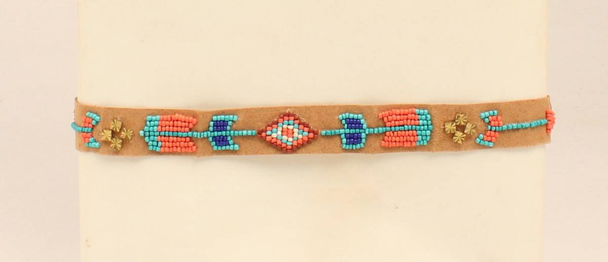 Blazin Roxx Beaded Arrow Headband