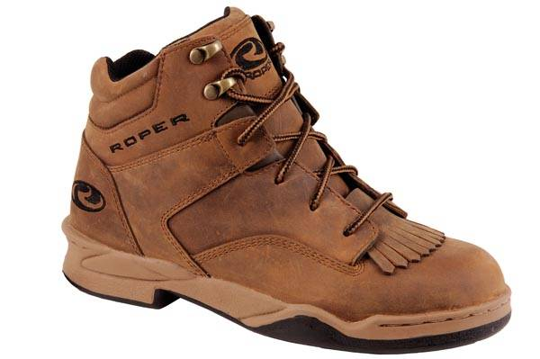Roper Mens Classic Original Horseshoe Kiltie Oiled Leather Shoe