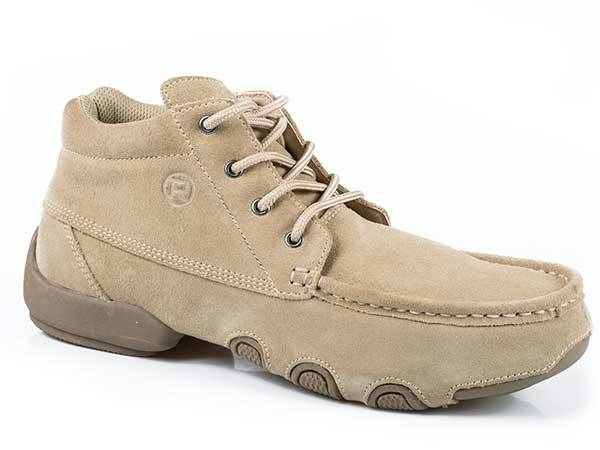 Roper Mens High Country Cruisers Suede Driving Moccasin