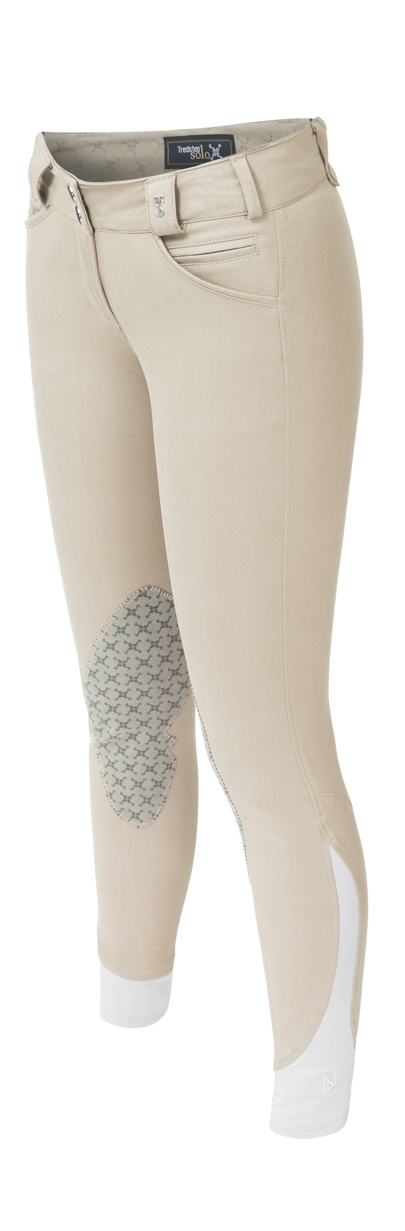 Tredstep Solo Grip Knee Patch Breech