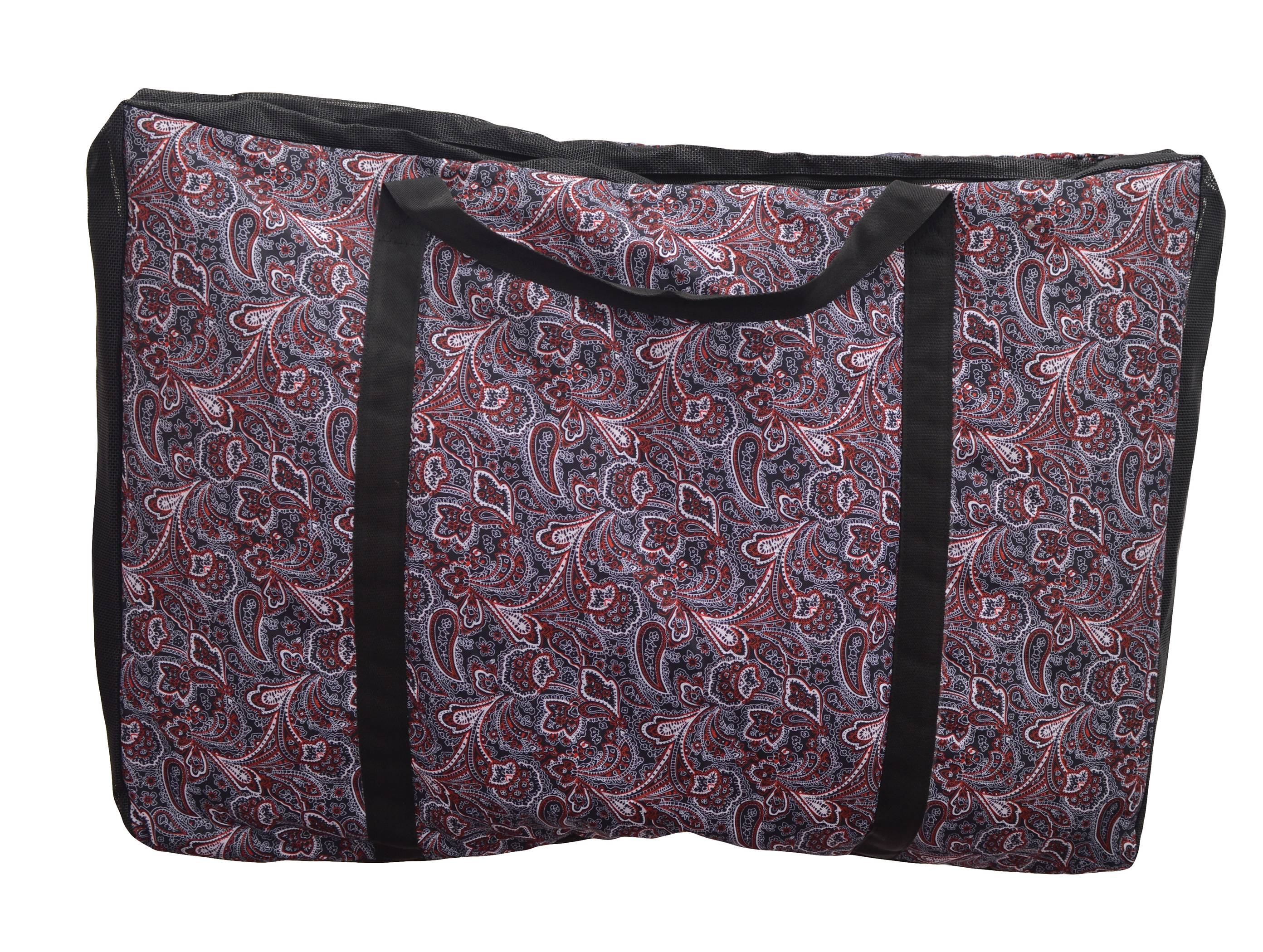 Equi-Sky Paisley Western Saddle Pad Bag