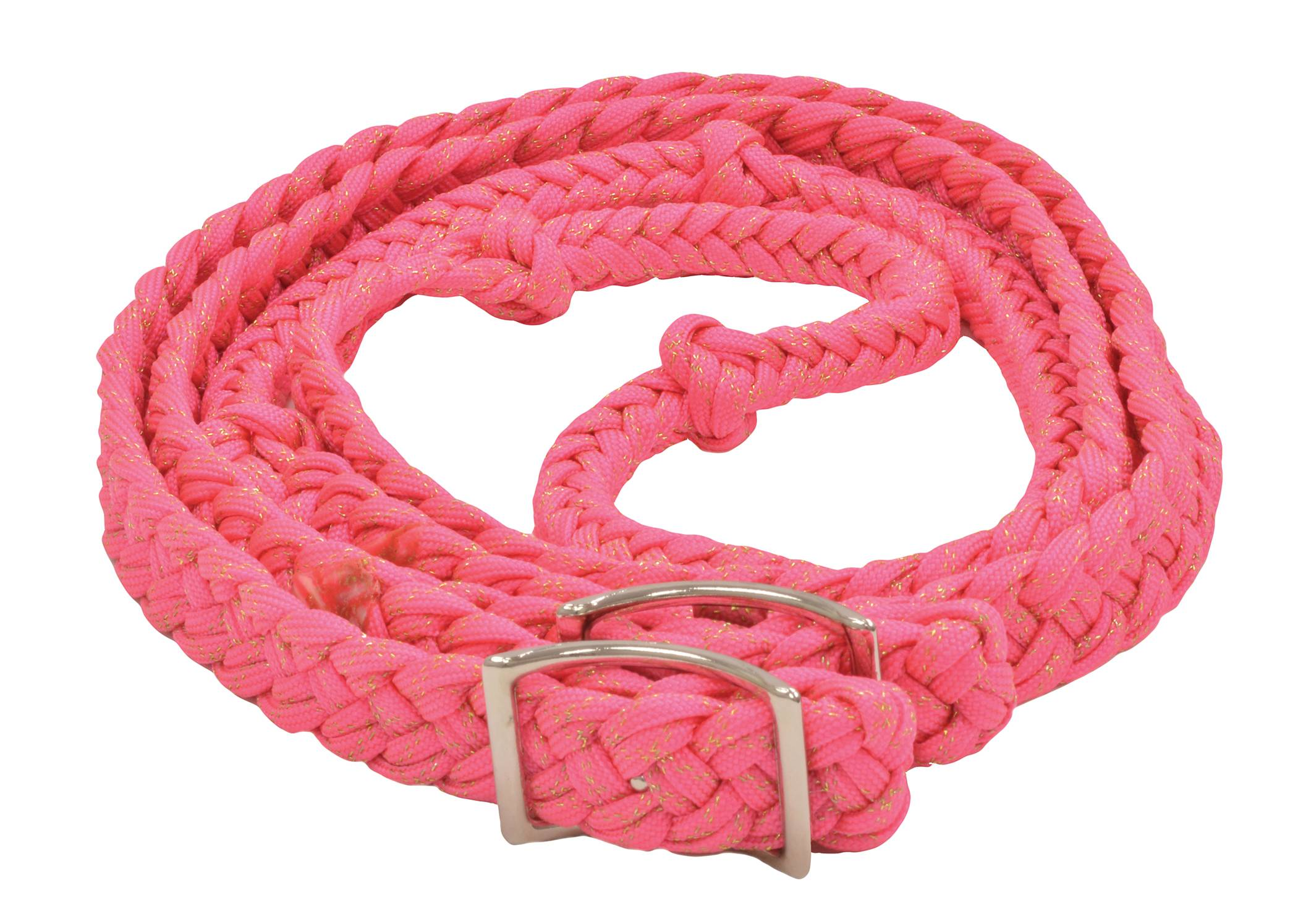 Equi-Sky Glitter Braided Barrel Rein