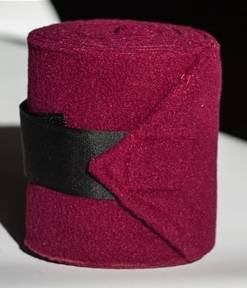 Nunn Finer Deluxe Polo Bandage With Extra Wide hook & loop fastener