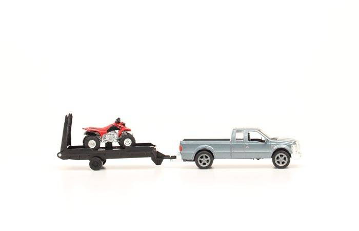 Bigtime Rodeo Pickup & 4 Wheeler