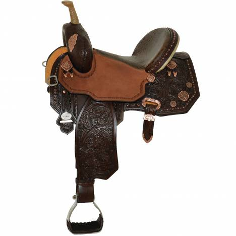 Circle Y Josey Ultimate Legend Barrel Saddle