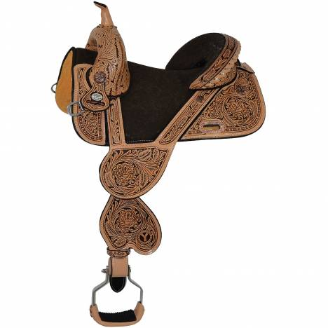 Circle Y Jatzlau J2 Med Horn Barrel Saddle