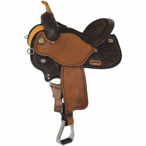 Circle Y Kelly Kaminski Faith Flex2 Barrel Saddle