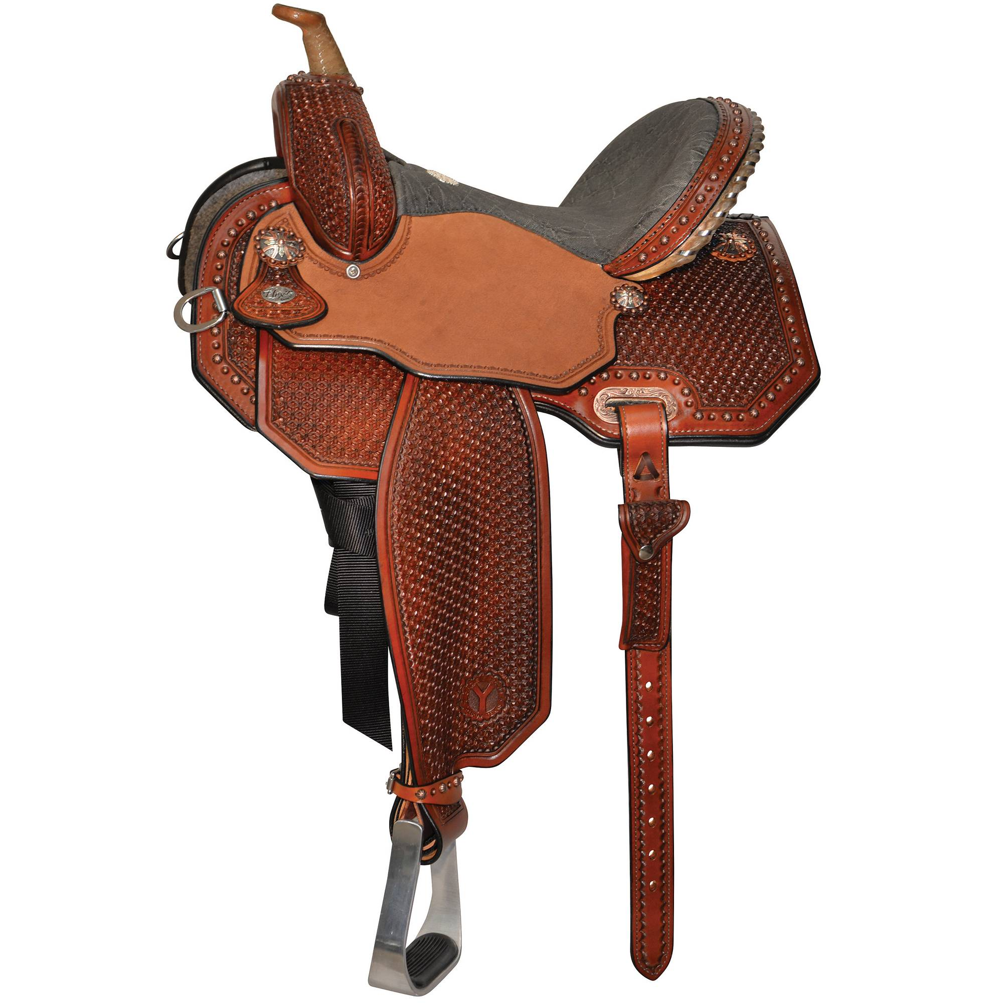 Circle Y Lisa Lockhart Flex2 Barrel Saddle