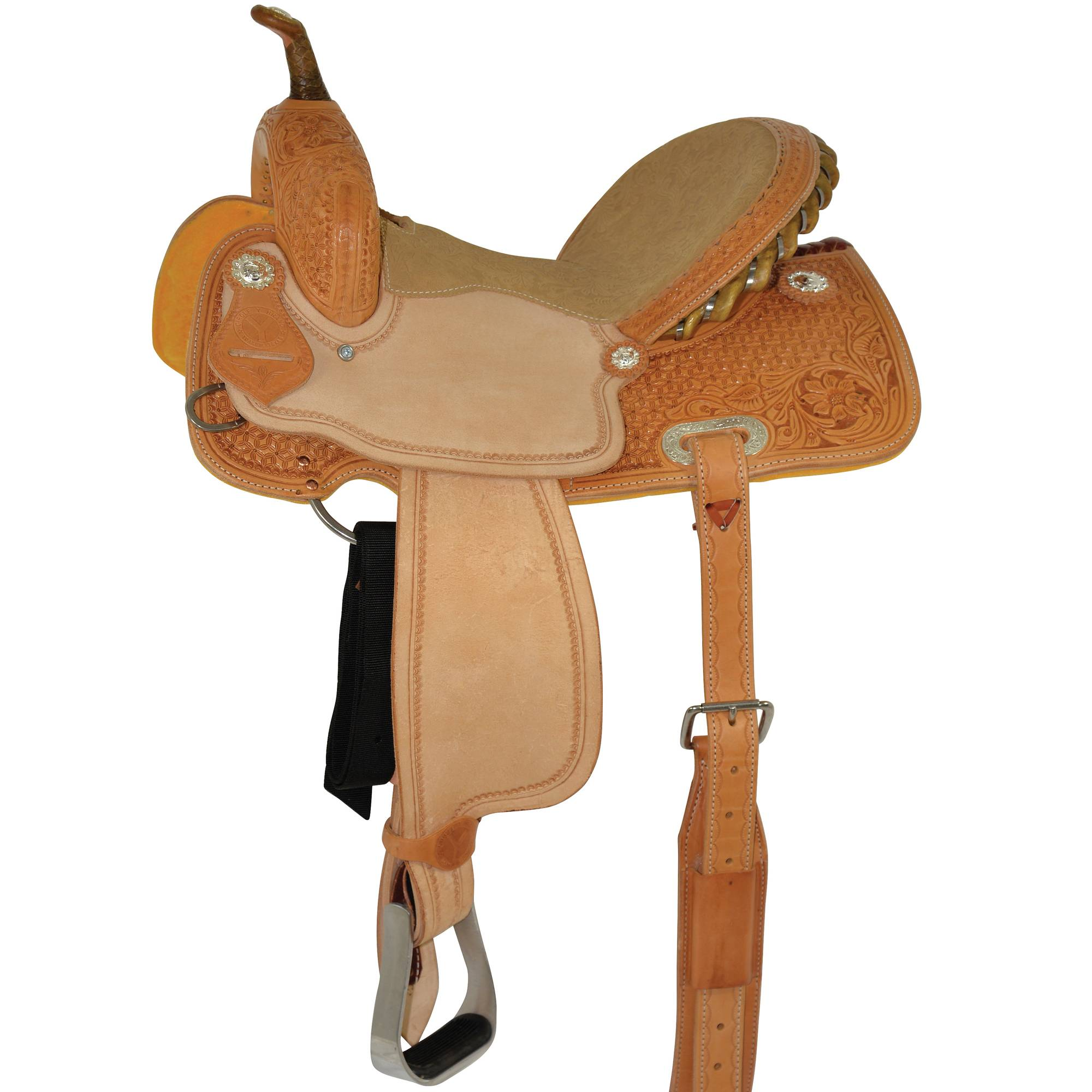 Circle Y Select Arizona/Snowflake Barrel Saddle