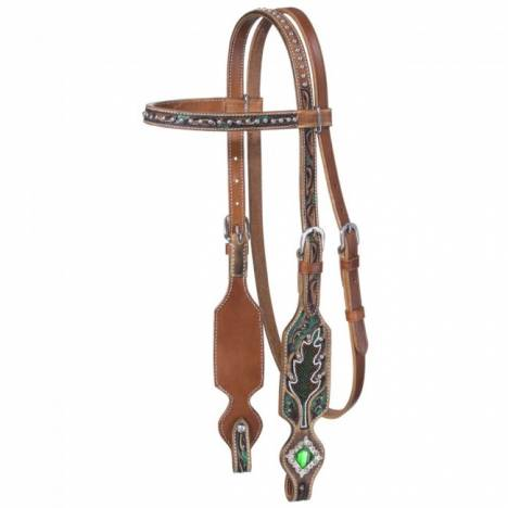 Silver Royal Dylan Collection Browband Headstall