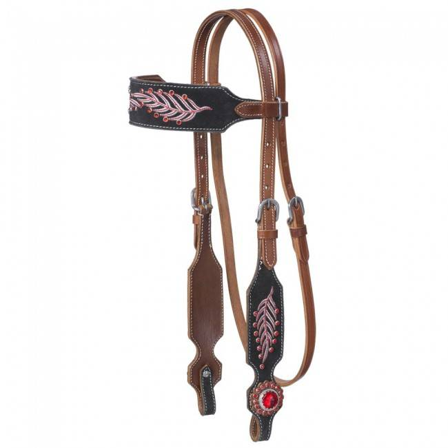 Silver Royal Lucy Collection Browband Headstall
