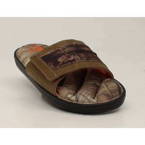 DBL Barrel Mens Camo Strap/Foot Flip Flop