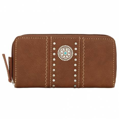 Bandana Rio Rancho Zip Around Wallet