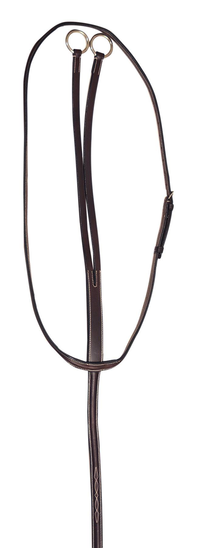 Treadstone Windeck Fancy Raised Running Martingale - Pony
