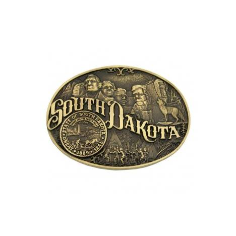 Montana Silversmiths South Dakota State Heritage Attitude Buckle