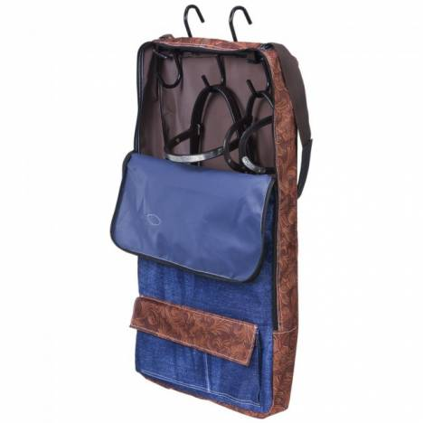 Tough 1 Patented Halter/Bridle Bag - American Legend Print