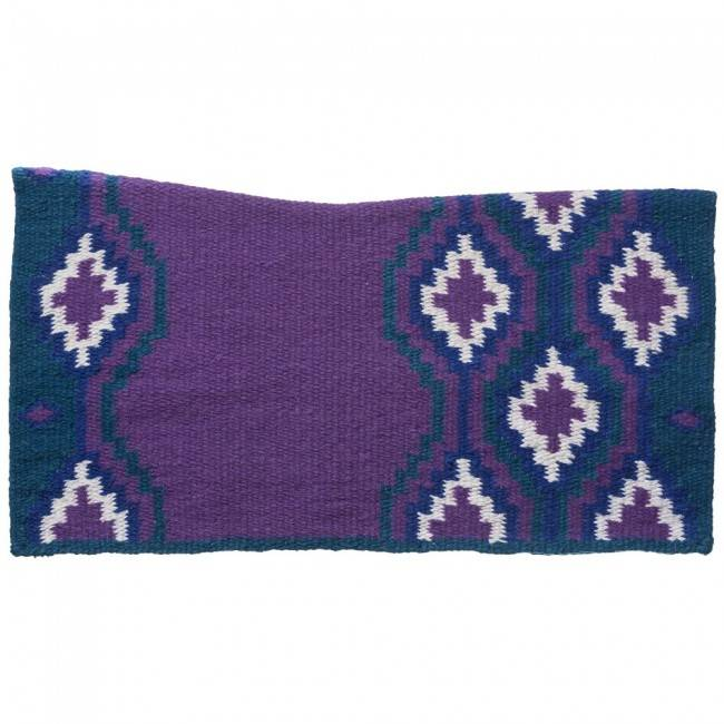 Tough 1 Contour Wool Lakota Navajo Saddle Blanket