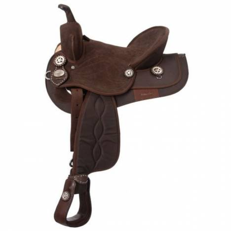 Eclipse by Tough 1 Synthetic Western Trail/Competition Saddle Package
