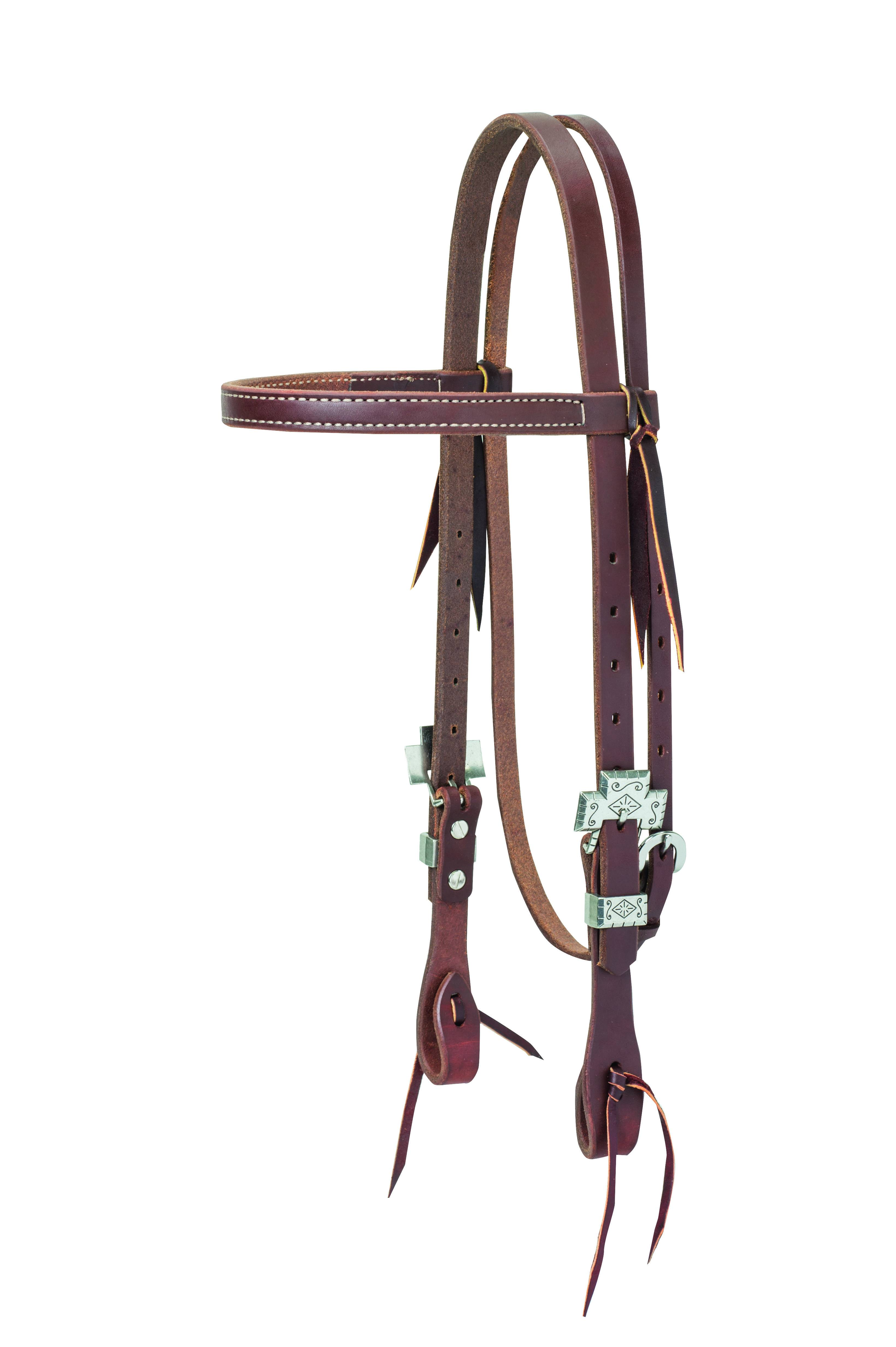 Weaver Working Cowboy Browband Cross Headstall