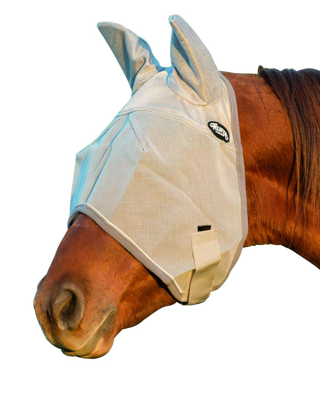 Weaver Covered Ear Fly Mask