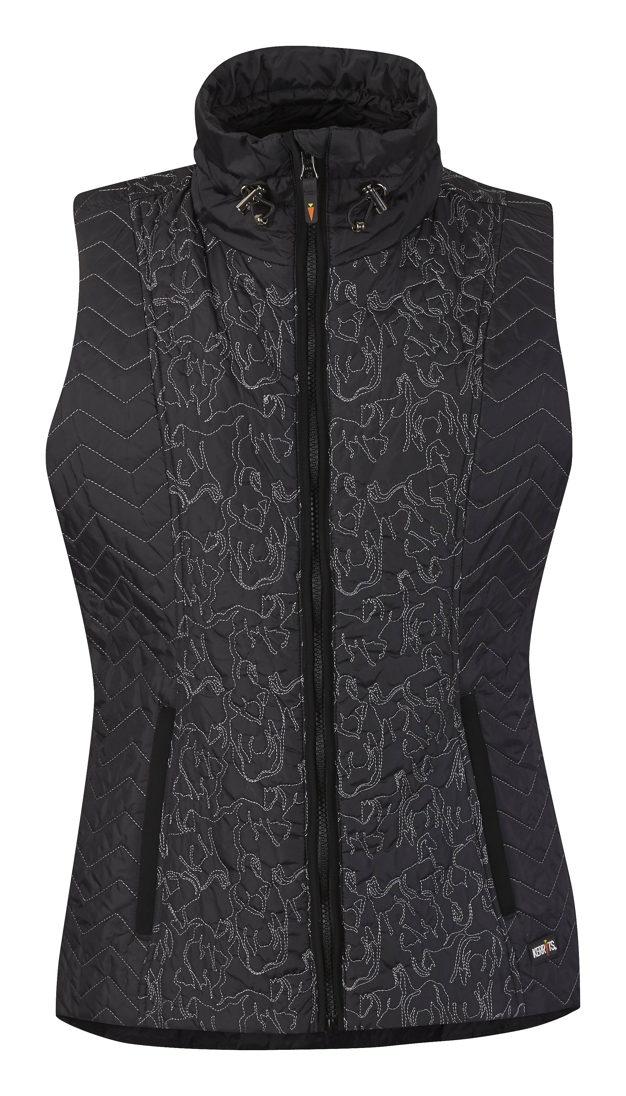 Kerrits Ladies Horse Play Quilted Vest