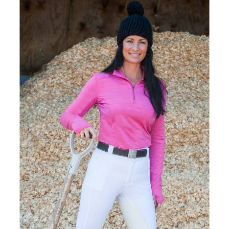 FITS Ladies Erin Base Layer - Pink