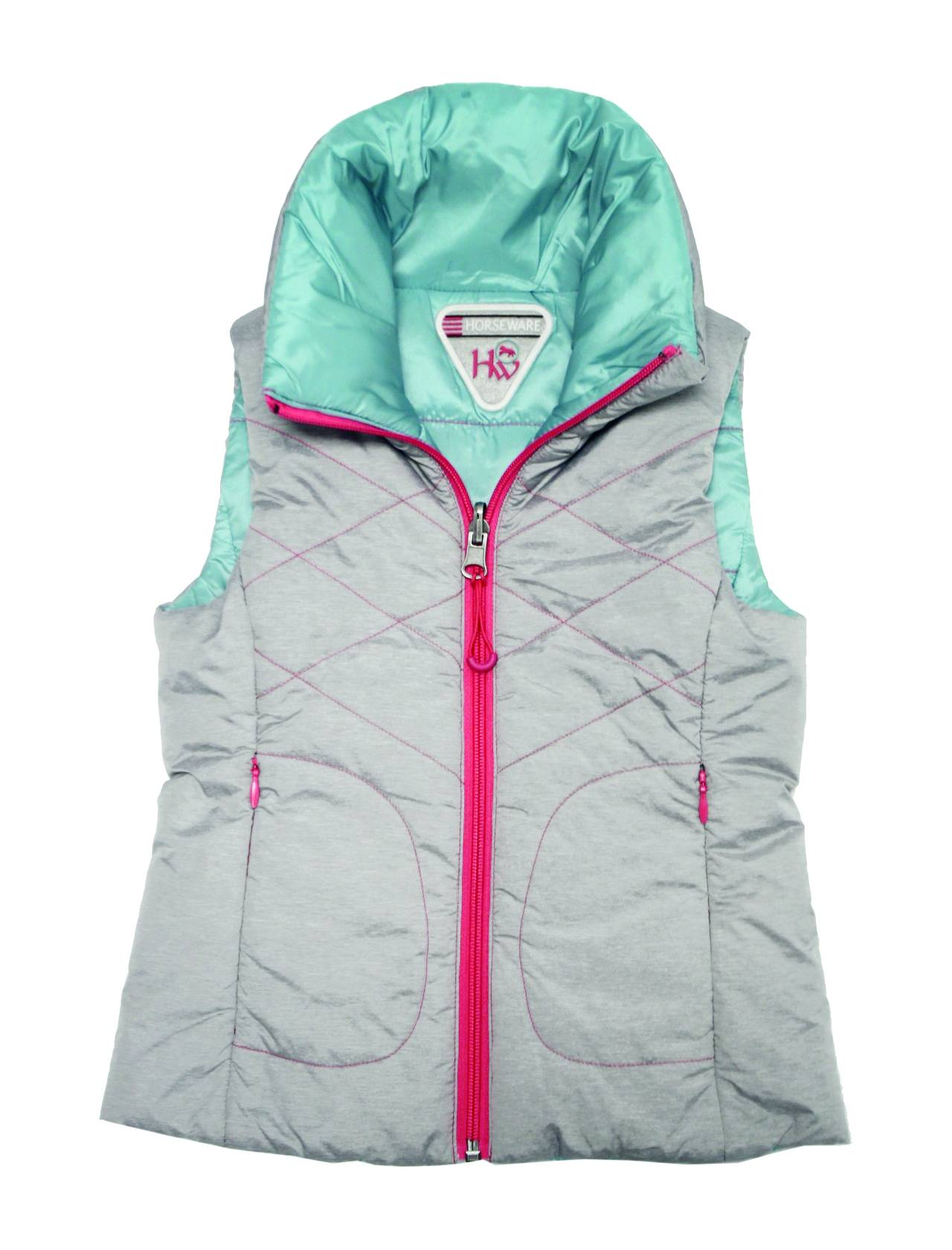 Horseware Girls Reversible Gilet