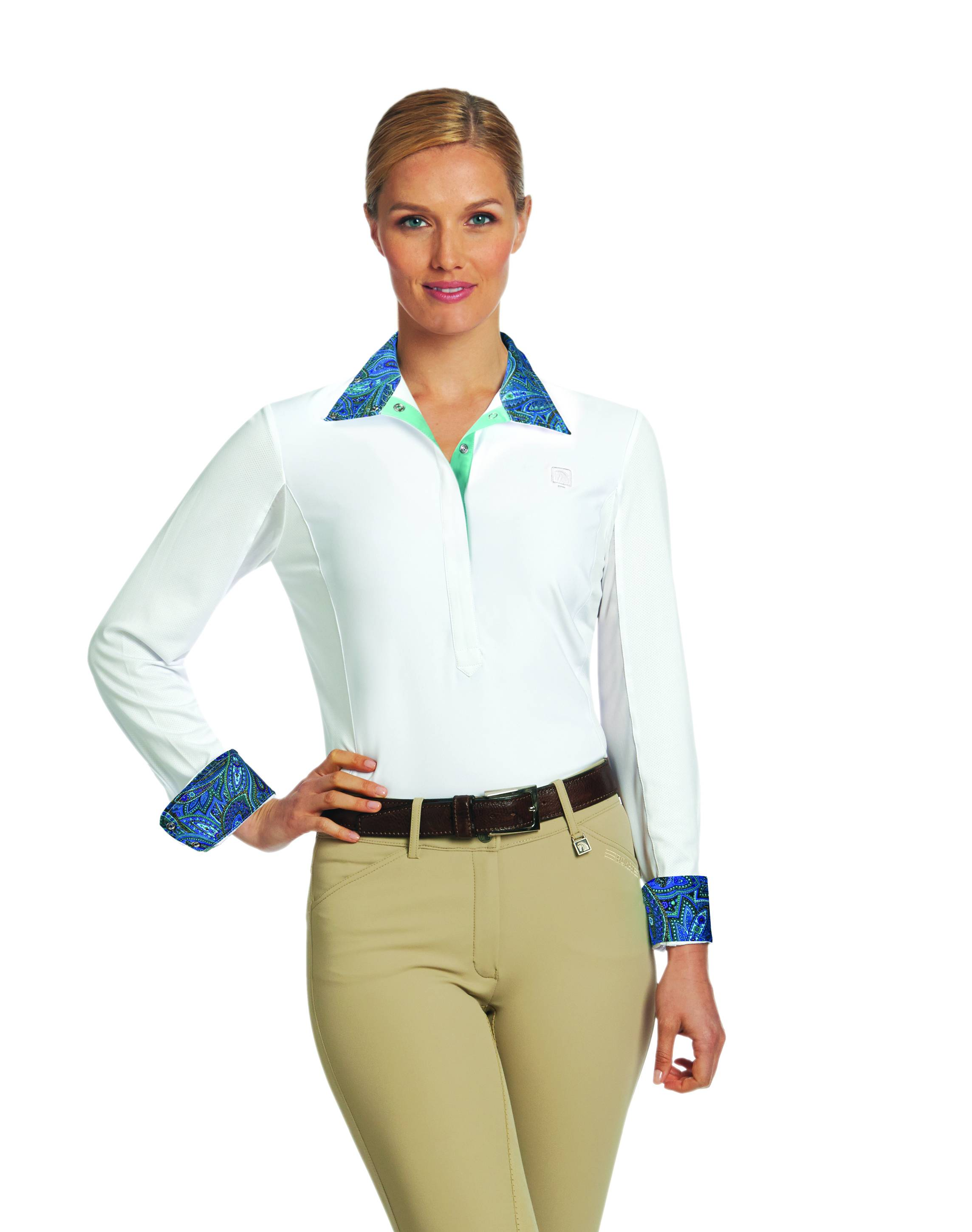 Romfh Ladies Lindsay Long Sleeve Show Shirt