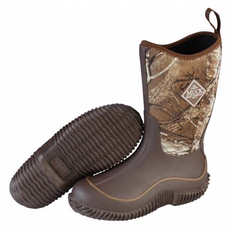 Muck Boots Kids Hale - Chocolate Brown Realtree Xtra