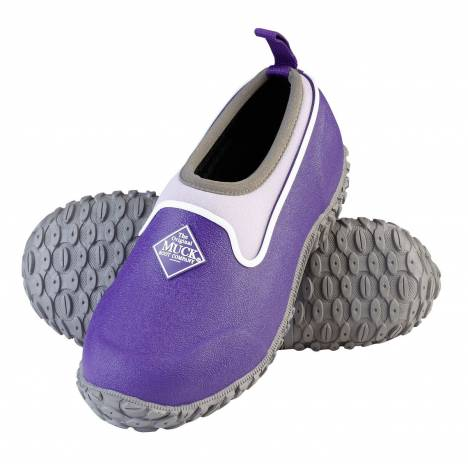 Muck Boots Youth Muckster II Low - Purple