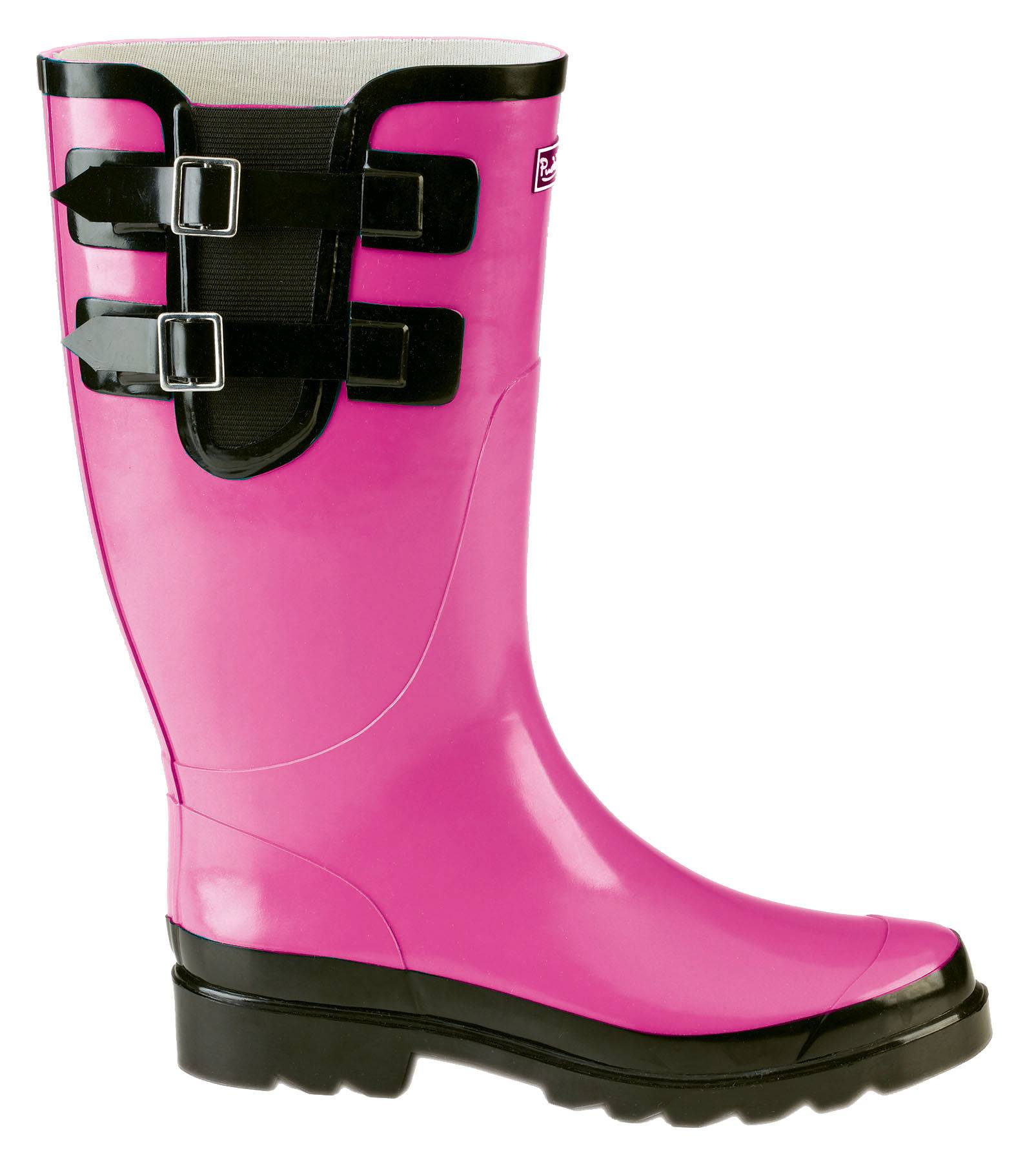 Muck Boots Ladies Classic Double Strap Puddleton - Pink