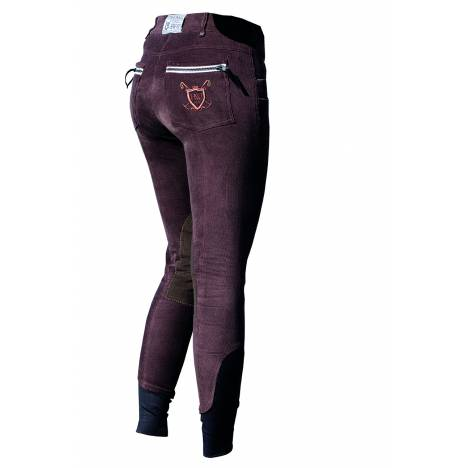Horseware Polo Ladies' Nina Corded Knee Patch Breeches