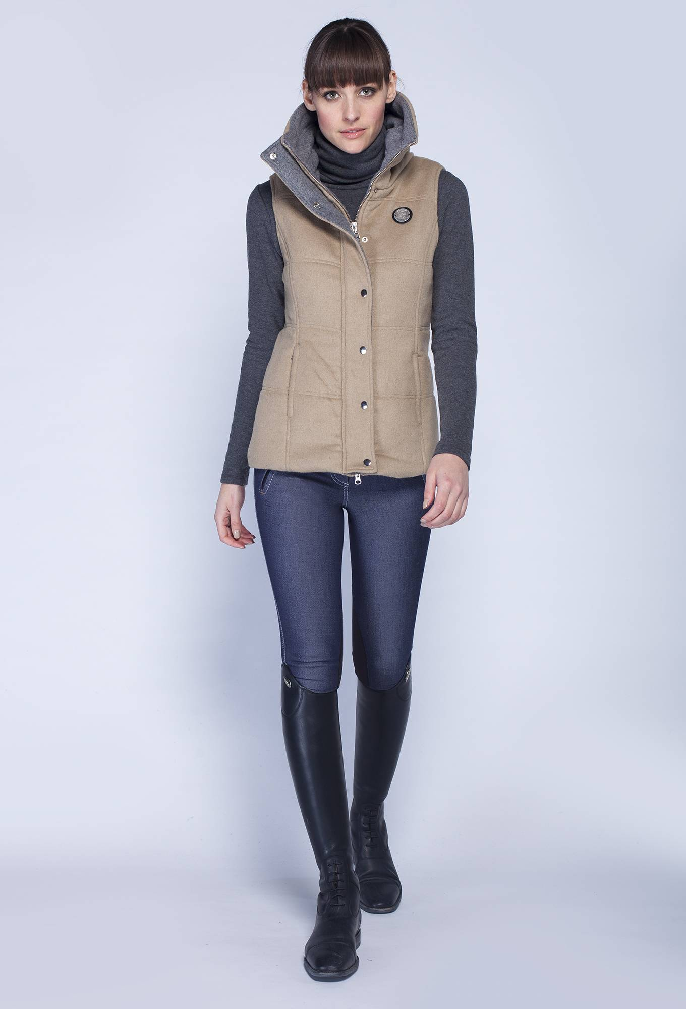 Asmar Ladies Melton Vest