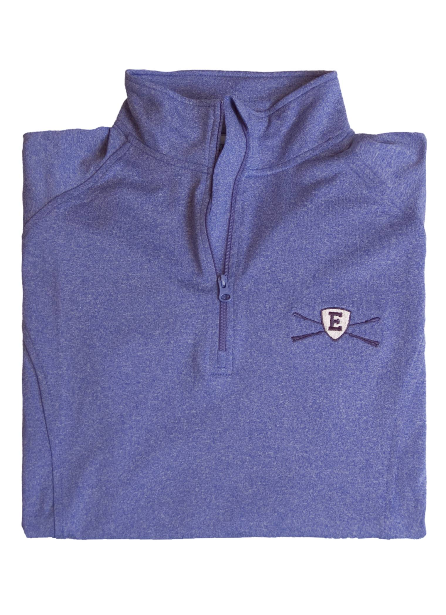 Stirrups Ladies 1/4 Zip Eventing With Whip Embroidered Stretch Pullover