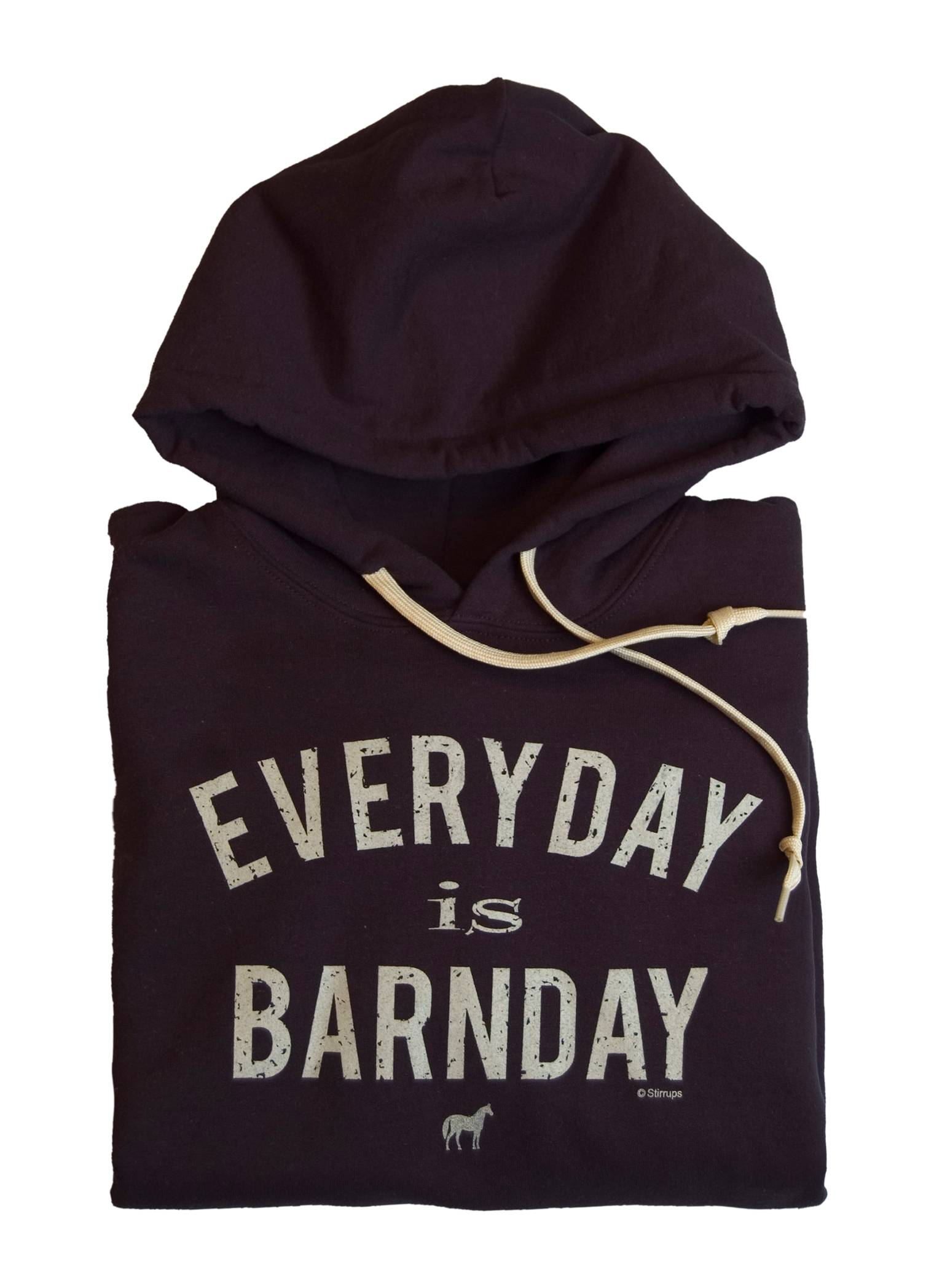 Stirrups Ladies Everyday Is Barnday Hooded Sweatshirt