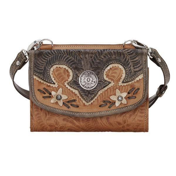 American West Desert Wildflower Small Crossbody Bag/Wallet