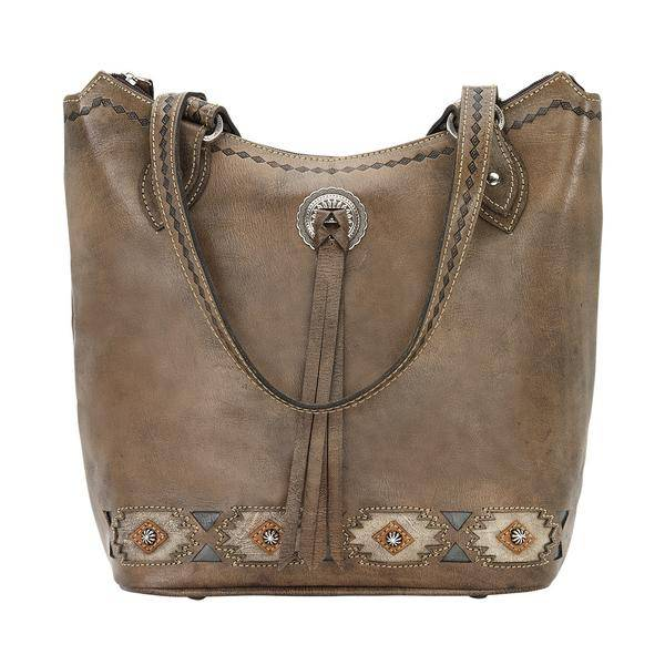 American West Native Sun Zip Top Bucket Tote
