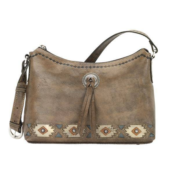 American West Native Sun Zip-Top Shoulder Bag