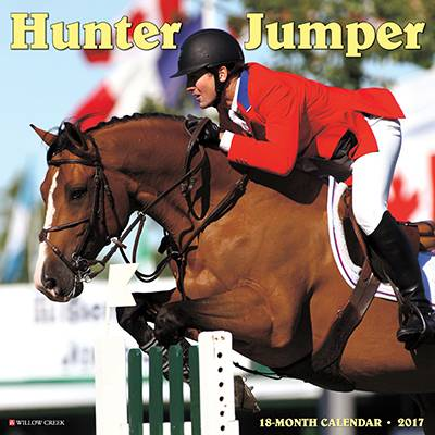 Hunter & Jumper 2017 18 Month Calendar