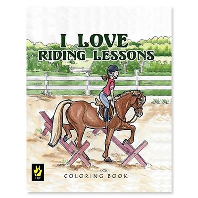 I Love Riding Lessons Coloring Book