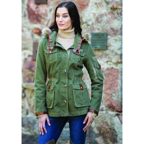 Goode Rider Ladies Military Jacket