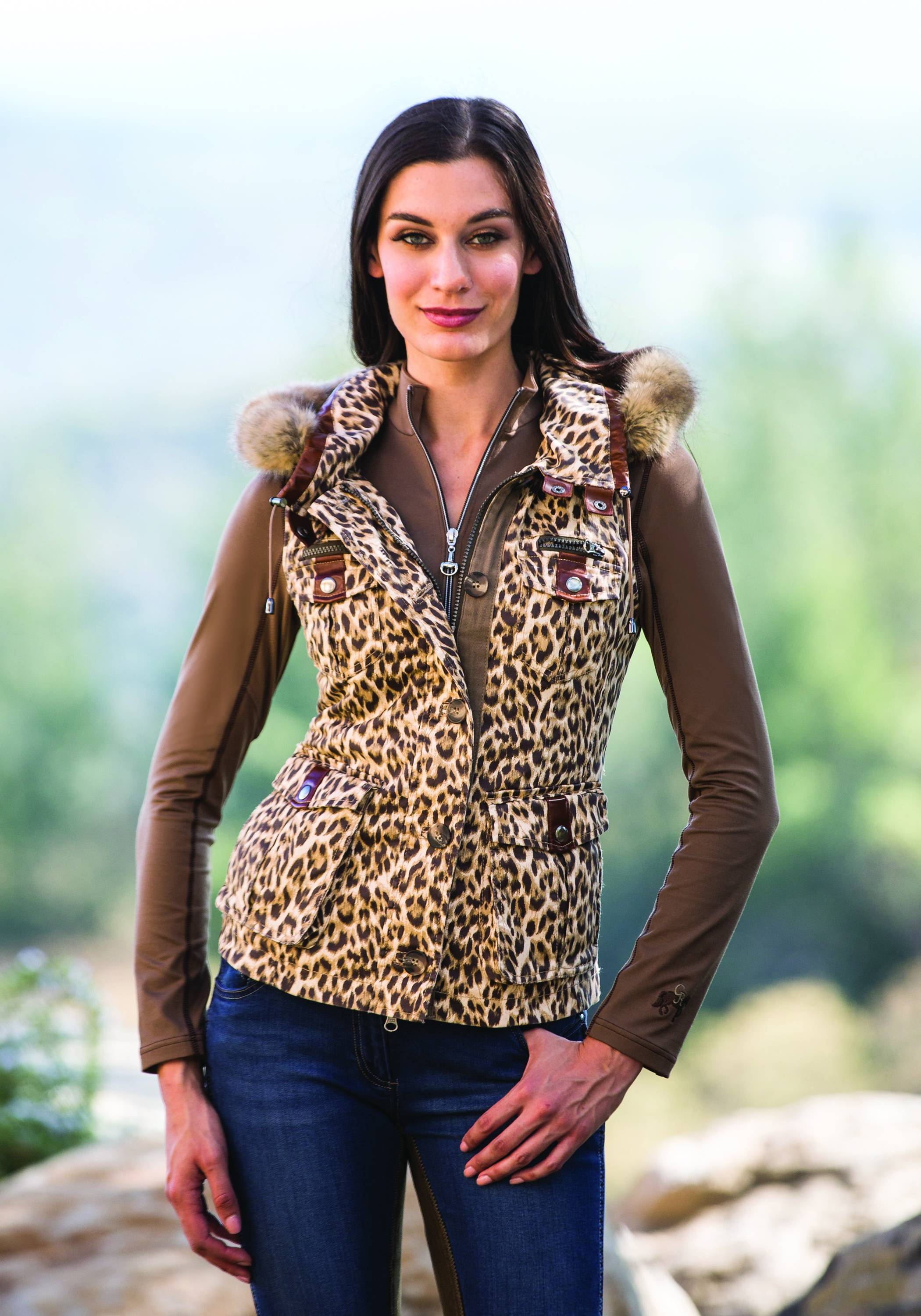 Goode Rider Ladies Military Vest