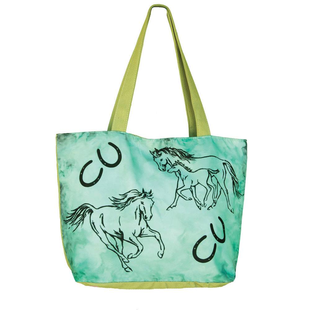 WOW Canvas Tote Bag Family Mare and Foal - FREE With $99 WOW Purchase