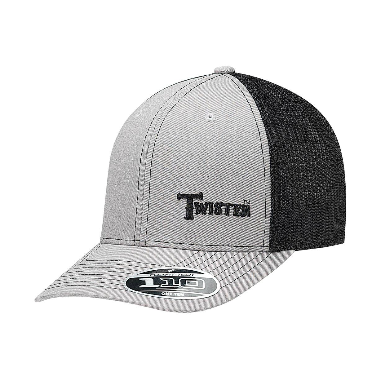 Twister Mens Text Flex Fit Contrast Stitch Cap