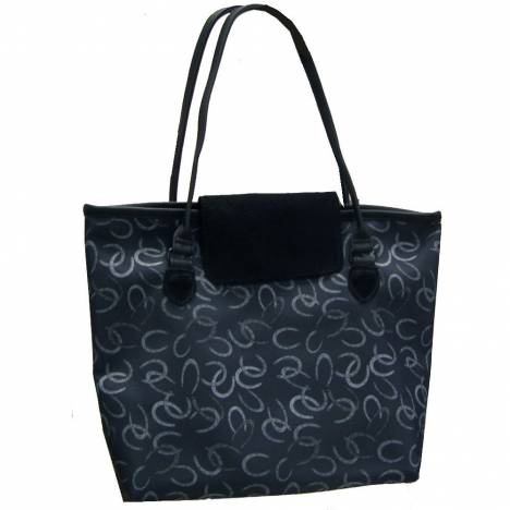 WOW Large Carol Tote Bag Horseshoes