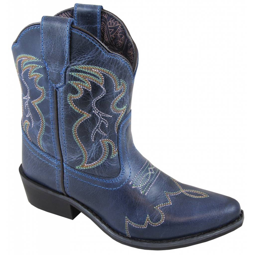 Smoky Mountain Youth Juniper Boots - Blue