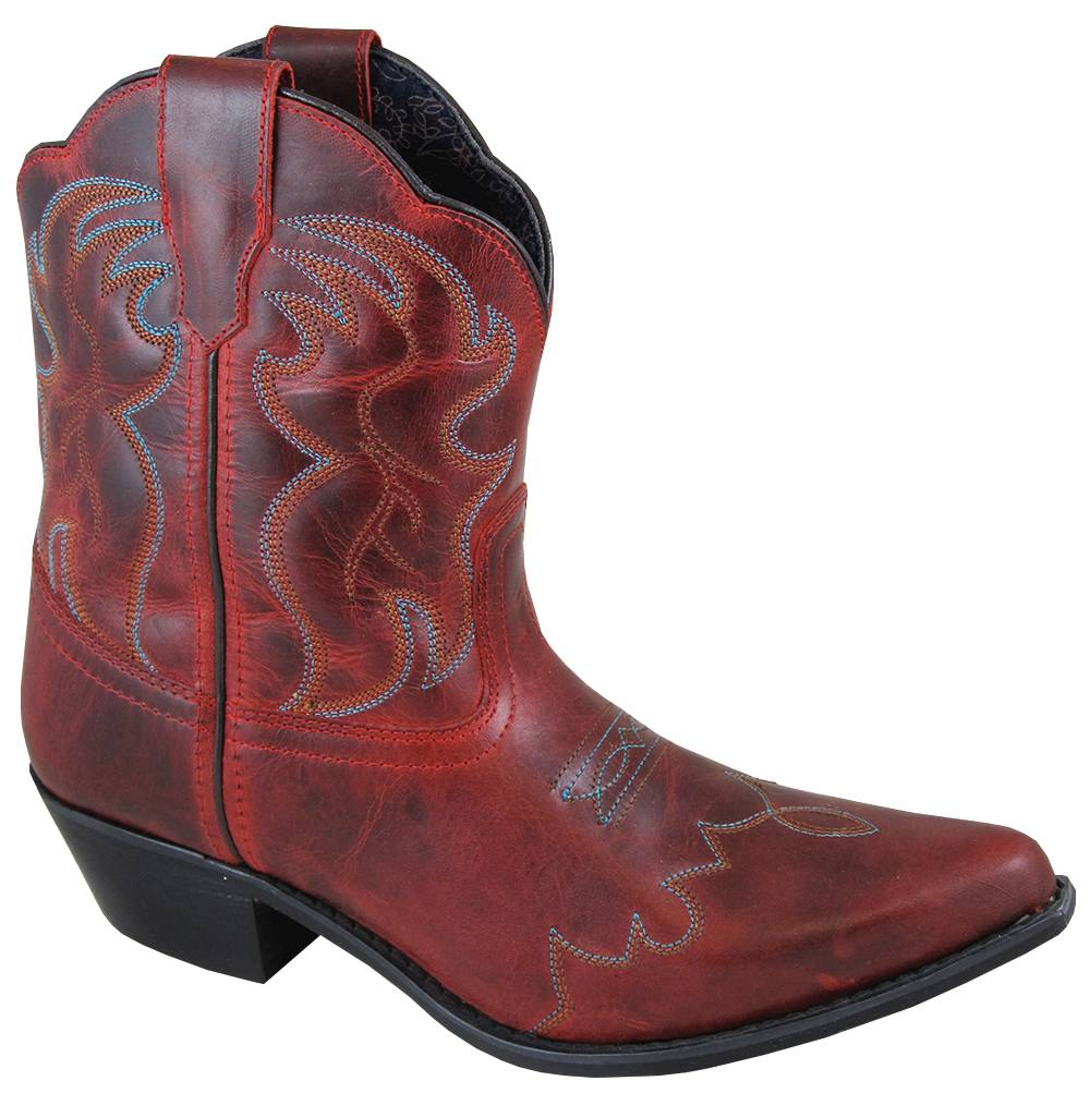 Smoky Mountain Ladies Juniper Boot - Red