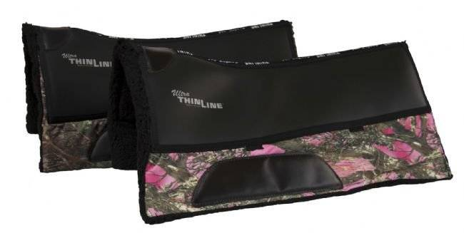 Thinline Camo Cordura Western Saddle Pad