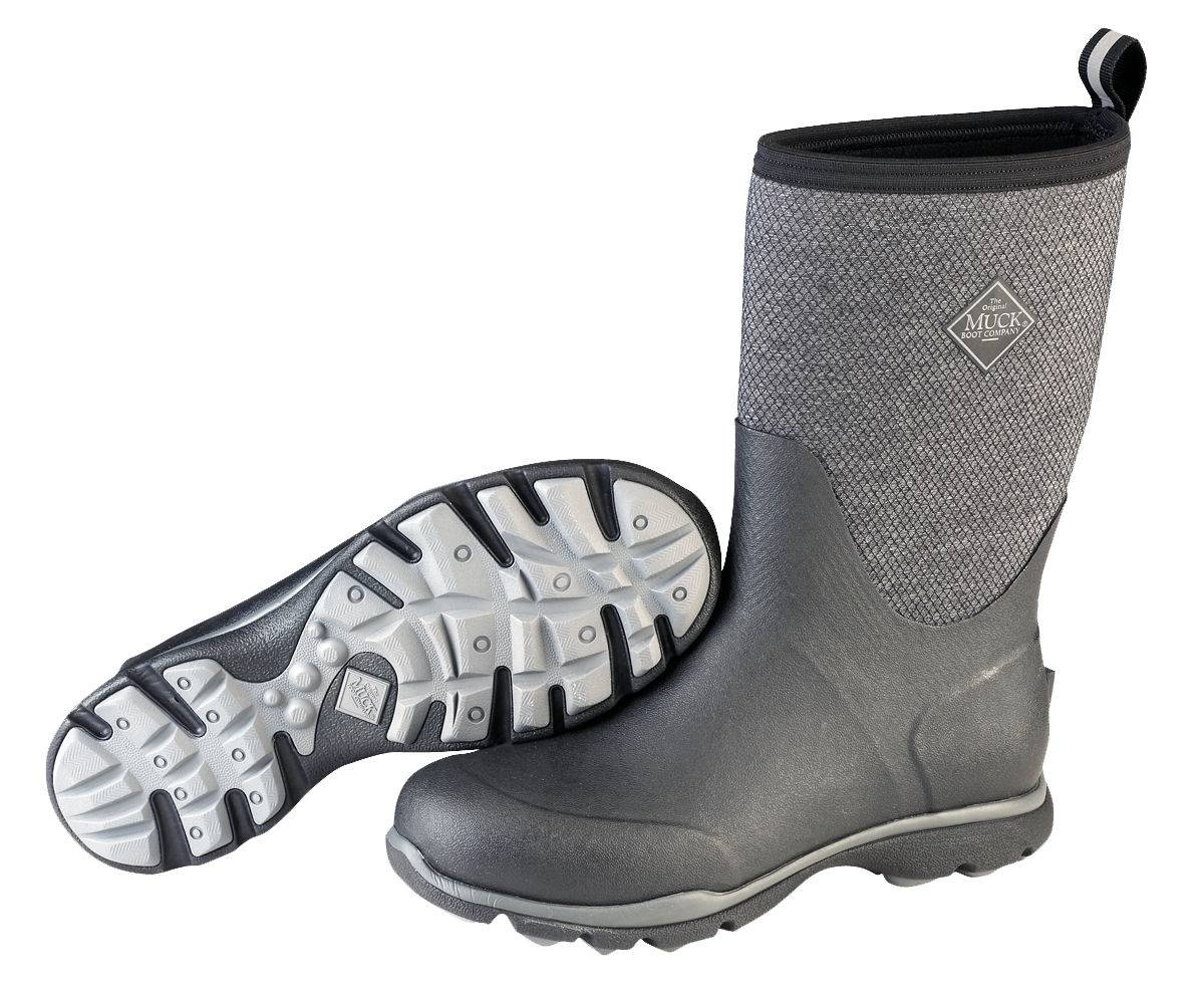 Muck Boots Mens Zx Arctic Excursion Mid - Gray